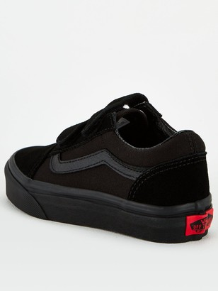 Vans Old Skool Children's Trainer - Black
