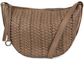 Kooba Sabine Woven Leather Saddle Bag