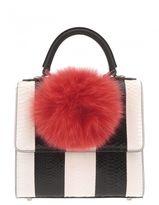 Les Petits Joueurs Bicoloured Leather Handbag
