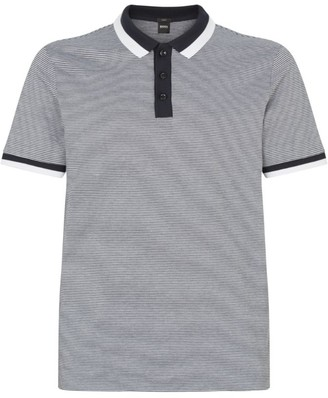 BOSS Stripe Polo Shirt