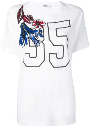 P.A.R.O.S.H. sequin detail T-shirt