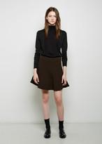 Marni Double Crepe Mini Skirt