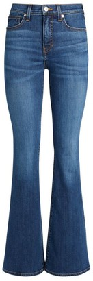 Veronica Beard High-Rise Beverly Flare Jeans