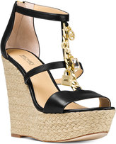 MICHAEL Michael Kors Suki Strappy Wedge Sandals