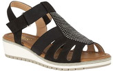Lotus Shoes Rene Open-Toe Wedge Sandals