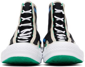 Converse Black Digital Terrain Chuck 70 Hi Sneakers
