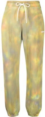 MSGM Tie-Dye Track Pants