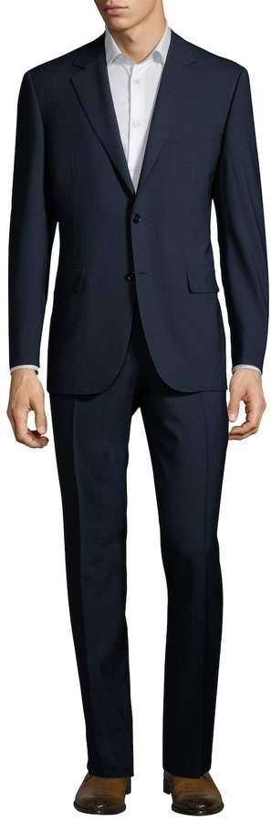 Canali Men's Knit Wool Suit