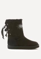 Bebe Raquelle Faux Fur Boots