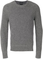 Tom Ford ribbed knit jumper - men - Silk/Wool - 48
