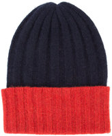 The Elder Statesman cashmere colour block beanie