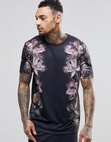 Asos Loungewear Pyjama T-shirt With Floral Print