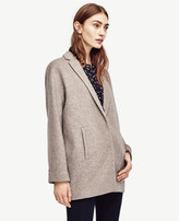 Ann Taylor Brushed Cocoon Coat