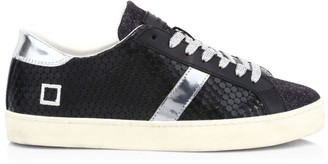 D.A.T.E Hill Low Pong Leather Sneakers
