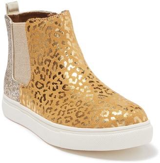 Harper Canyon Metallic Glitter Chelsea Sneaker