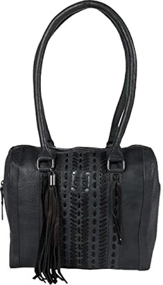 STS Ranchwear Marlowe Satchel (Charcoal) Handbags
