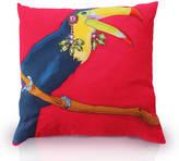 Perky Toucan Printed Cushion