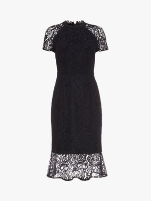 Phase Eight Mabel Lace Dress, Navy
