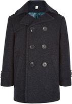 Monsoon Harry Herringbone Pea Coat