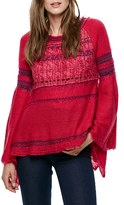 Free People Women's Craft Time Mixed Knit Sweater
