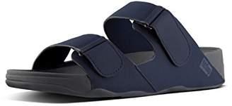 FitFlop Men's Gogh MOC Adjustable Slide Sandals-Neoprene