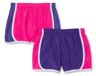 Cheetah Girls Star Print Running Shorts, 2-Pack, Sizes 4-16 & Plus