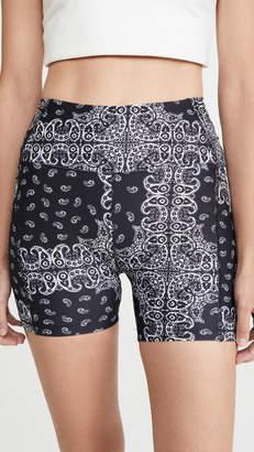 YEAR OF OURS Bandana Short Shorts