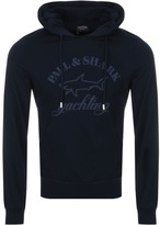 Paul & Shark Paul And Shark Logo Hoodie Navy