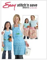 Mccall's M5915 Misses'/Children's/Girls' Aprons, Size A (All Sizes) by