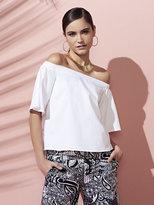New York & Co. 7th Avenue Design Studio - Off-The-Shoulder Blouse - White