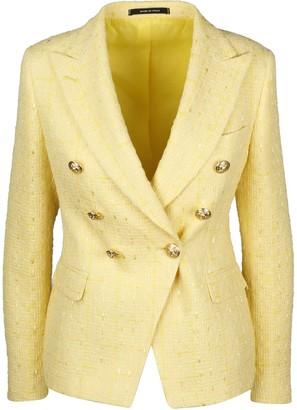 Tagliatore Alicya Tweed Blazer