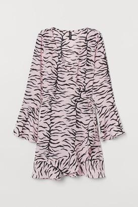 H&M Crepe wrap dress