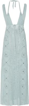 Jonathan Simkhai Remi Crochet-Knit Midi Dress