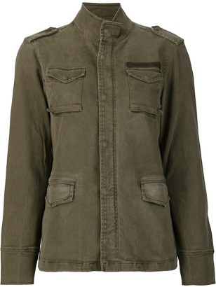 Anine Bing Army multiple-pocket jacket