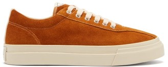 Stepney Workers Club - Dellow Suede Trainers - Yellow Gold