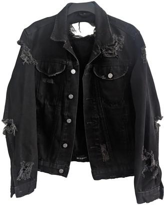 Misbhv Black Denim - Jeans Jackets