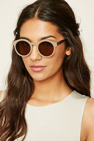 Forever 21 Metal Round Sunglasses