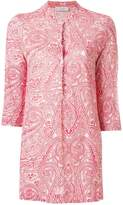 Le Tricot Perugia paisley-print fitted shirt