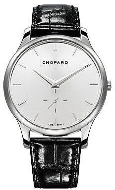 Chopard L.U.C XPS Automatic Silver Dial 18 kt White Gold Men's Watch