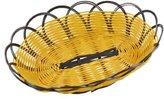 Waterwood Light Brown Black Fruit Vegetable Basket Container Washing Colander