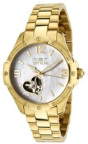 Invicta Women's 0290 Specialty Collection Automatic Diamond Accented 18k Gold-Plated Watch