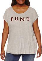 Boutique + + Short Sleeve Scoop Neck Graphic T-Shirt
