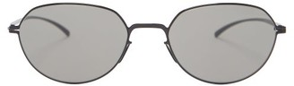 Mykita X Maison Margiela Stainless-steel Sunglasses - Black