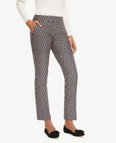Ann Taylor The Tall Ankle Pant in Daisy Jacquard - Devin Fit