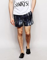 Libertine Libertine Shorts With All Over Print