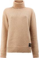 Stella McCartney roll neck rib knit sweater - women - Cashmere/Wool - M