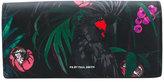 Paul Smith bird print purse - women - Cotton/Calf Leather/Leather - One Size