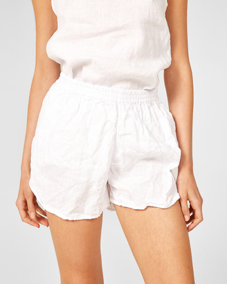 Primness - Women's White Shorts - Lin Shorts - Size One Size, 1 at The Iconic
