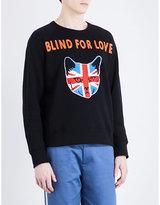Gucci Blind For Love Cotton-jersey Sweatshirt