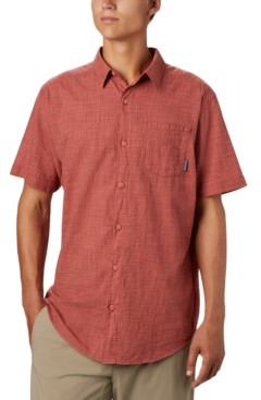Columbia Men's Big & Tall Under Exposure Yd Short Sleeve Shirt
